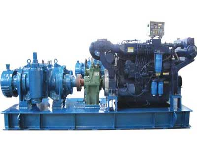 Double Screw Pump Set with Diesel(OS-PUMP-210)