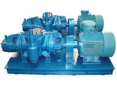 Double Screw Pump Set with Electric Motor(OS-PUMP-280)